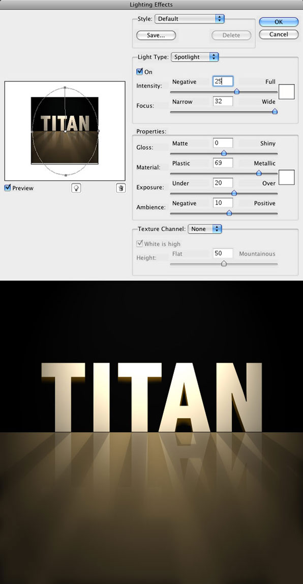 Titan Tutorial Step 10