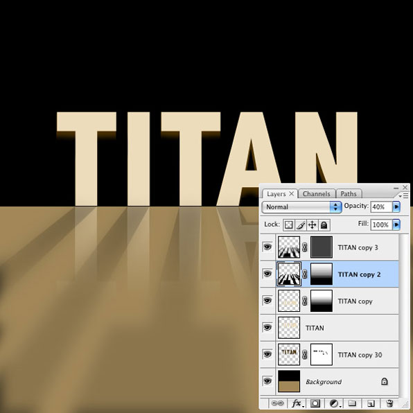 Titan Tutorial Step 9
