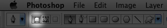 """""""Shape Layer"""" option for the Pen tool"""